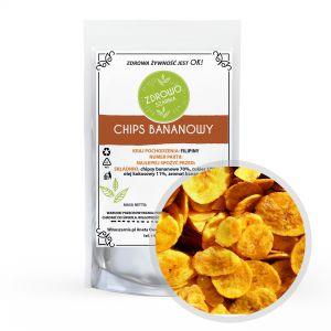 Chipsy Bananowe 500g Filipiny
